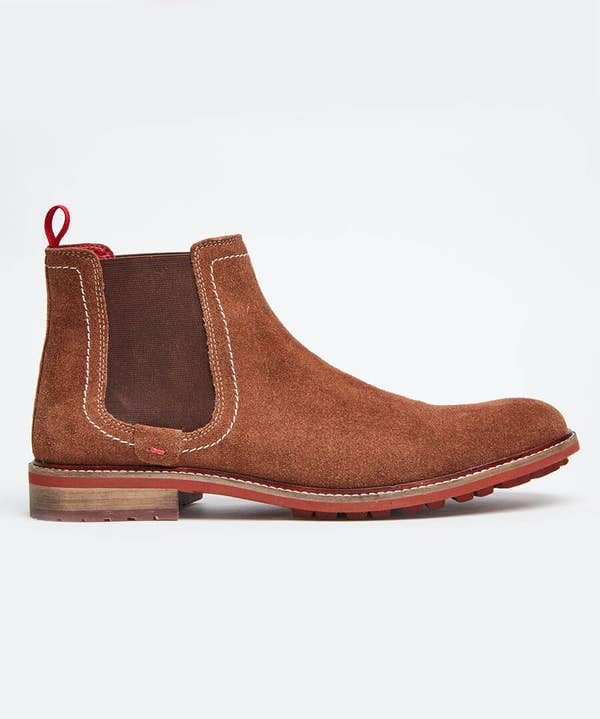 Weekend Suede Chelsea Boots