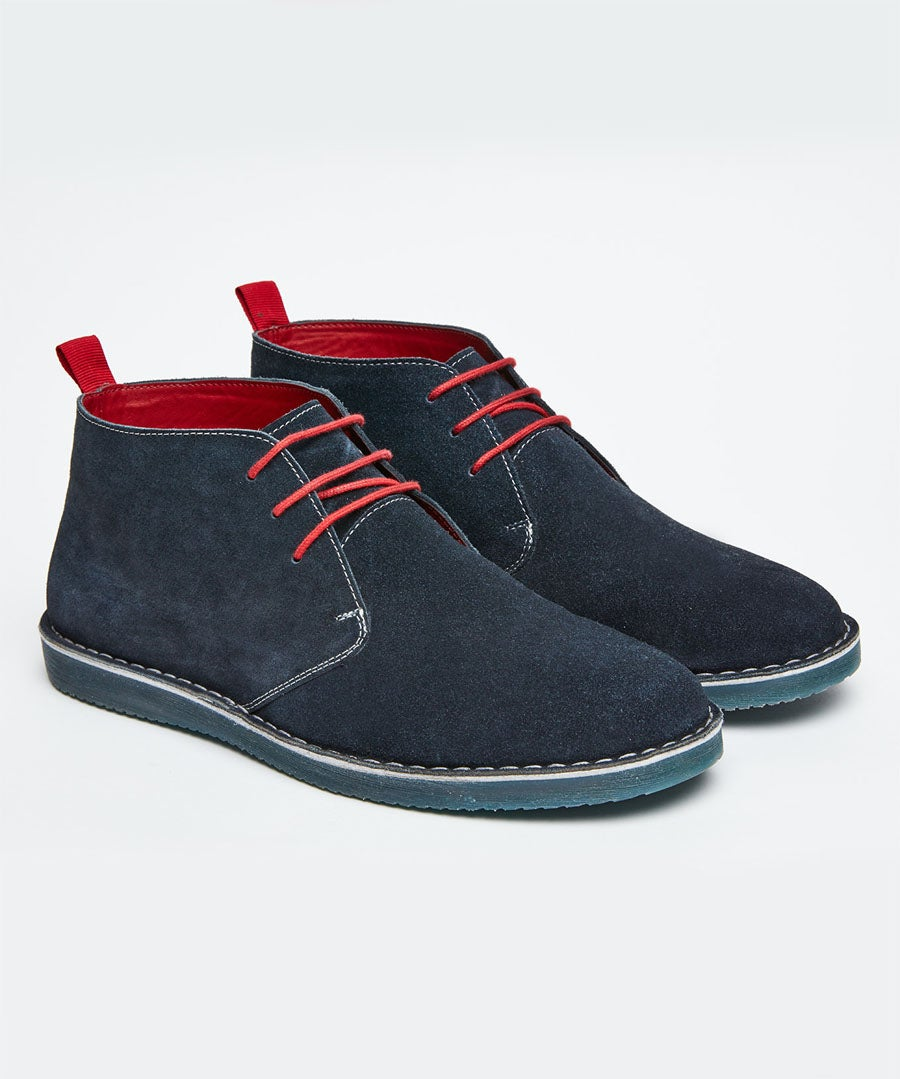 Gibson Suede Desert Boots Model Front