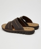 Off Beat Leather Sandals