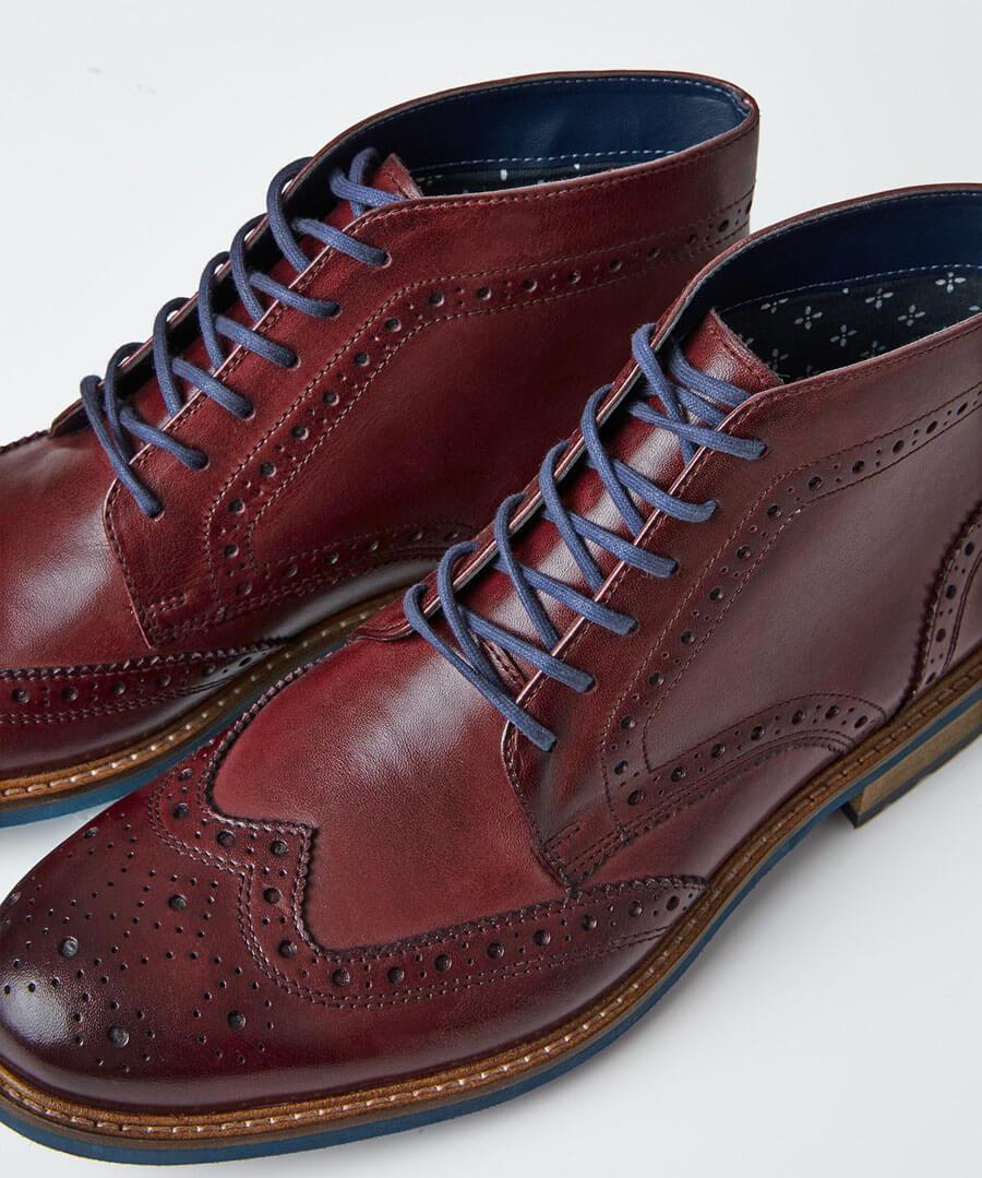 Tuscany Brogue Boots Back