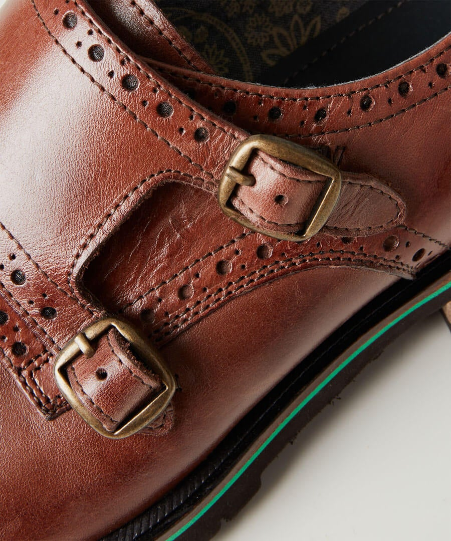Lewisville Strap Brogues Model Back