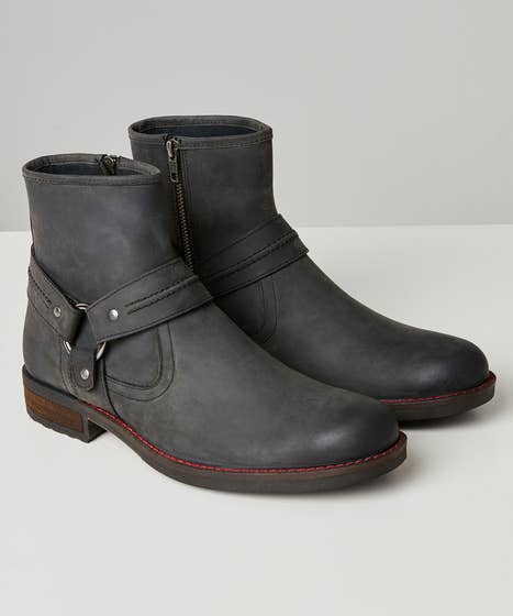 Houston Oiled Leather Boots
