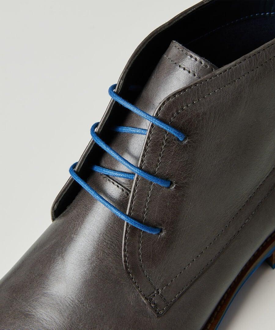 New Territory Blue Flash Boots Model Back
