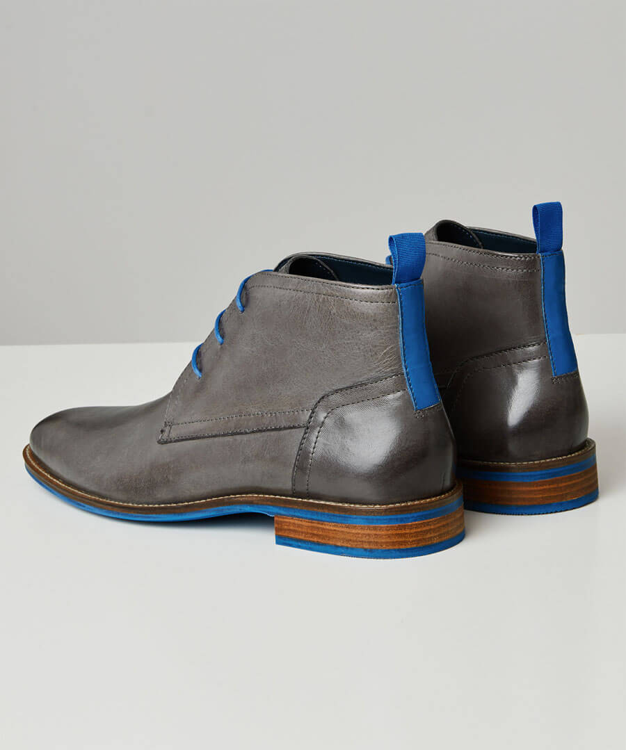 New Territory Blue Flash Boots Back