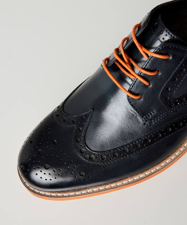 River Oaks Leather Brogues