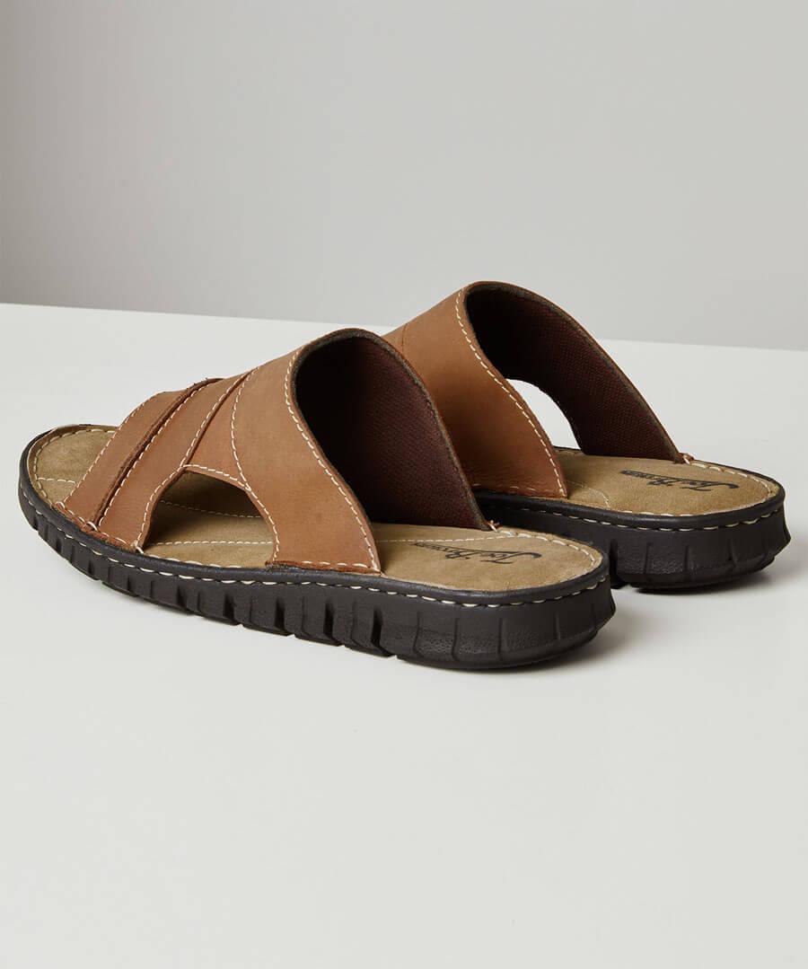 Southside Leather Sandals Back
