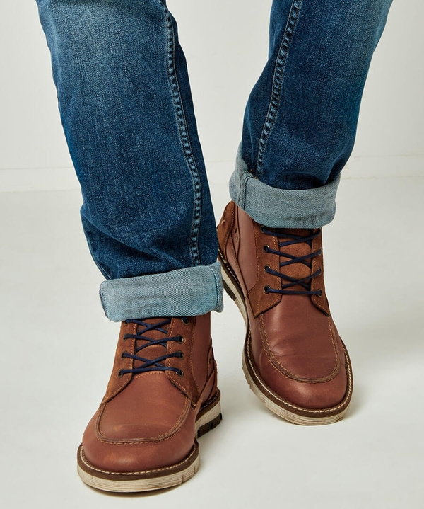 Drifter Casual Leather Boots