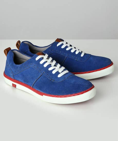 Ryder Suede Trainers