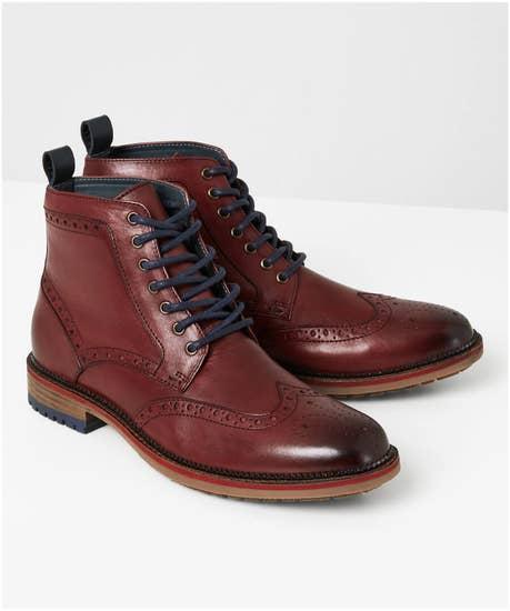 Cornerstone Brogue Boots