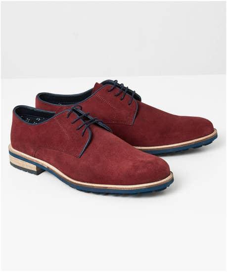 Greek Street Derby Shoes
