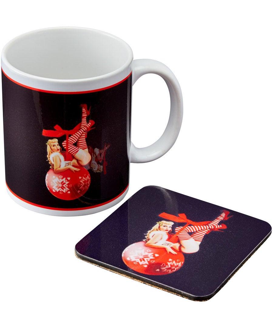 Christmas Mug And Coaster