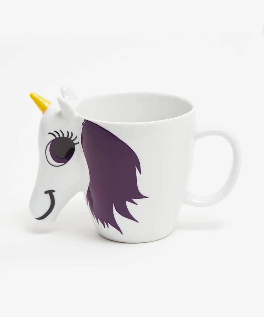 Magic Unicorn Mug Model Back