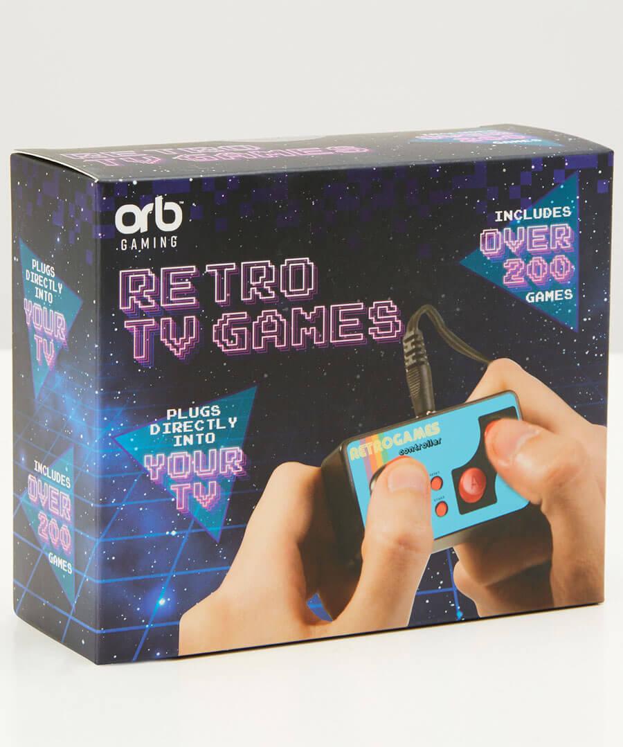 TV Retro Games Back