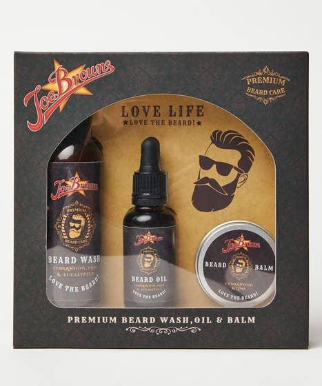Joe Browns Beard Grooming Set