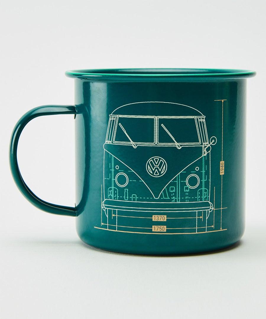 VW Mens Metal Mug and Sock Set Model Front