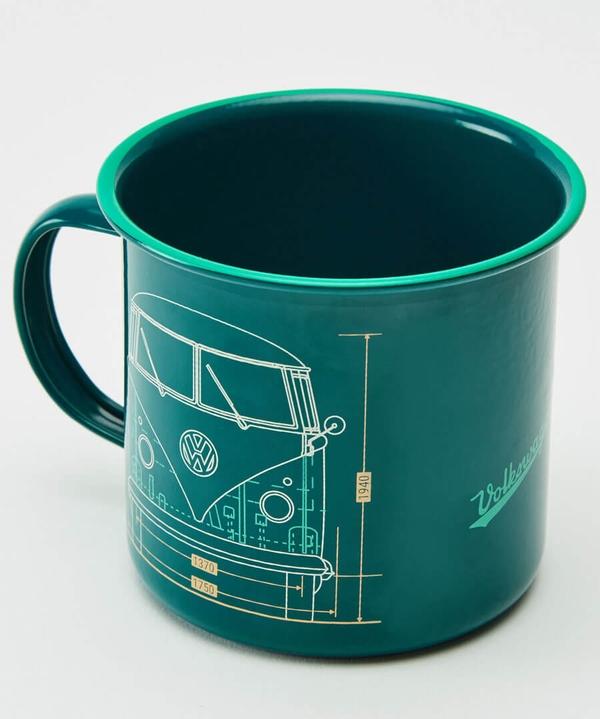 VW Men's Metal Mug and Sock Set