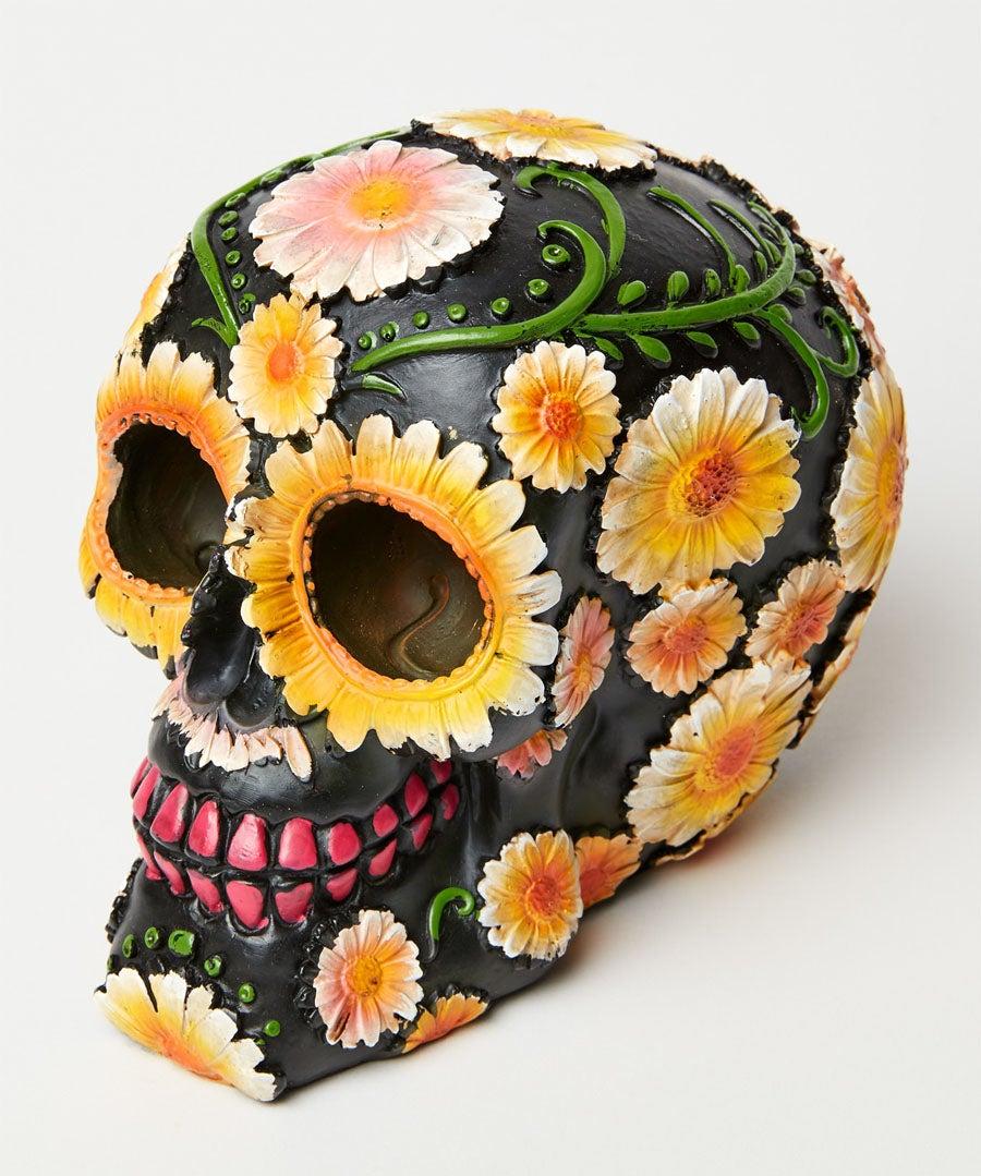 Day Of The Dead Skull Model Front