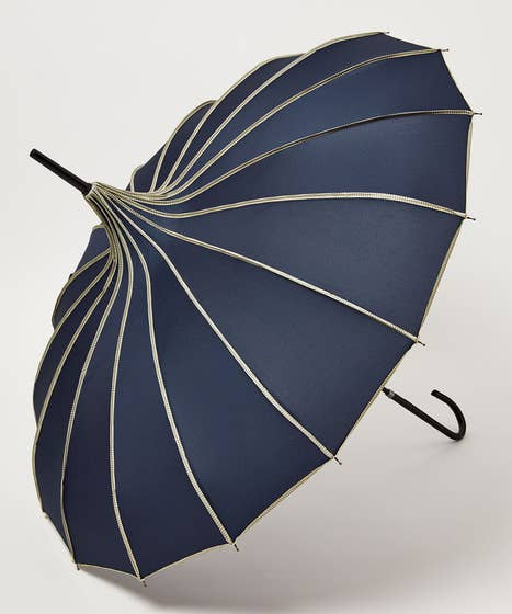 Ribbed Pagoda Umbrella