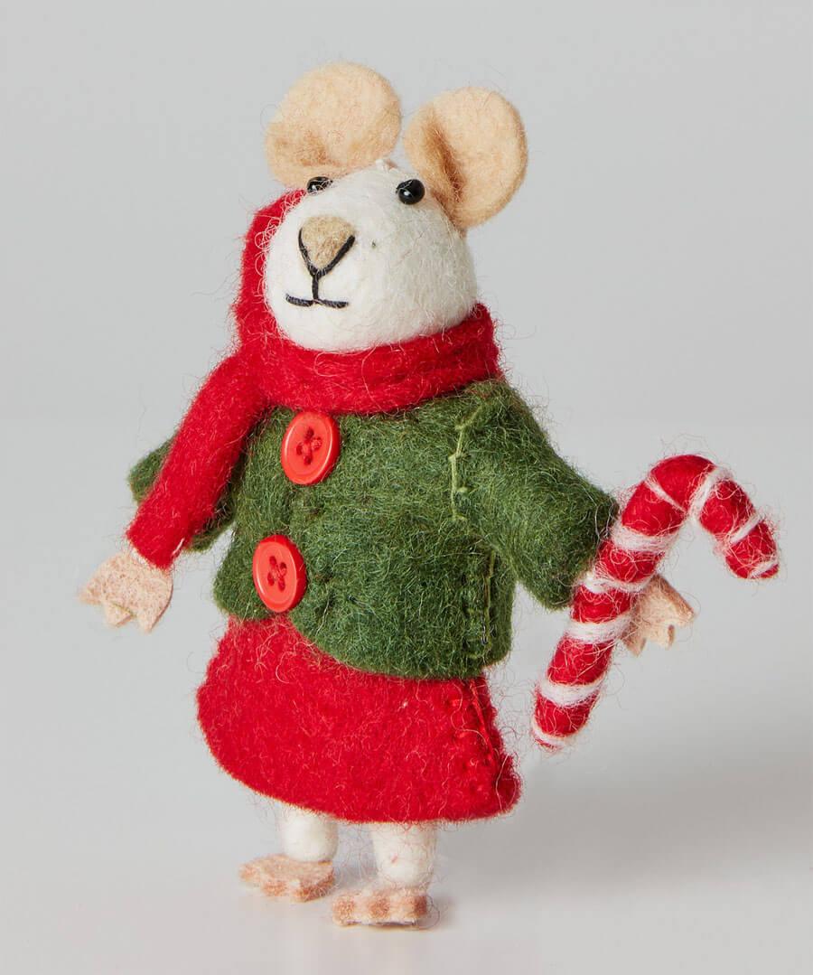Felt Christmas Mouse