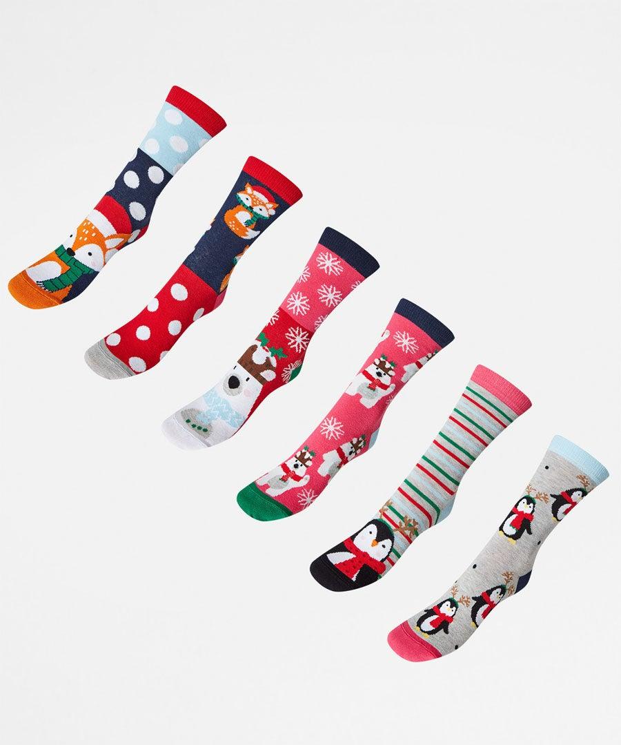 Funky Ladies Odd Socks Model Front