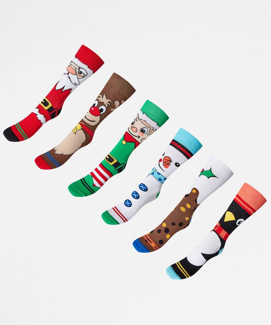Funky Mens Odd Socks Model Front