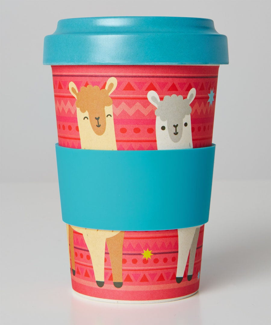 Eco Bamboo Travel Cup Model Front