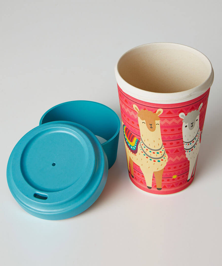 Eco Bamboo Travel Cup Model Back
