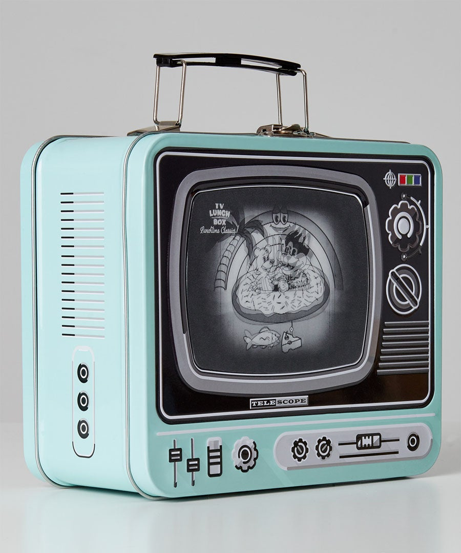 TV Lunch Box Model Front