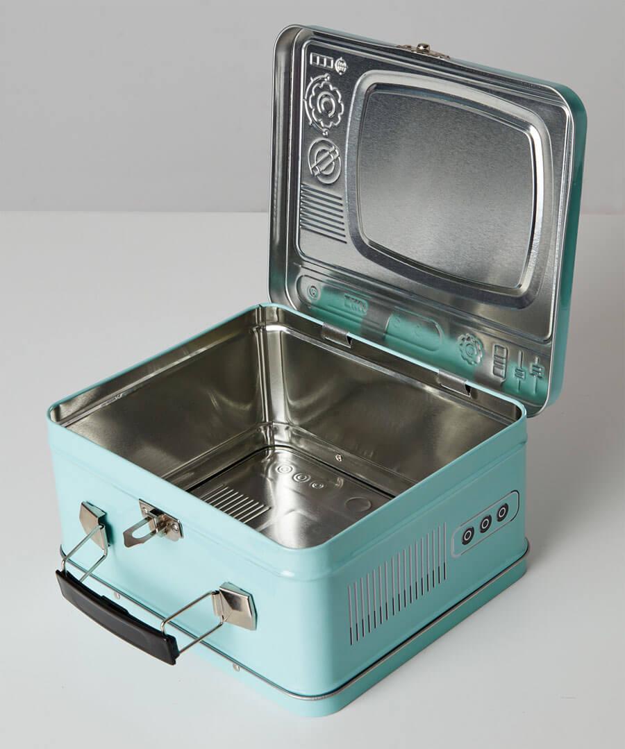 TV Lunch Box Model Back