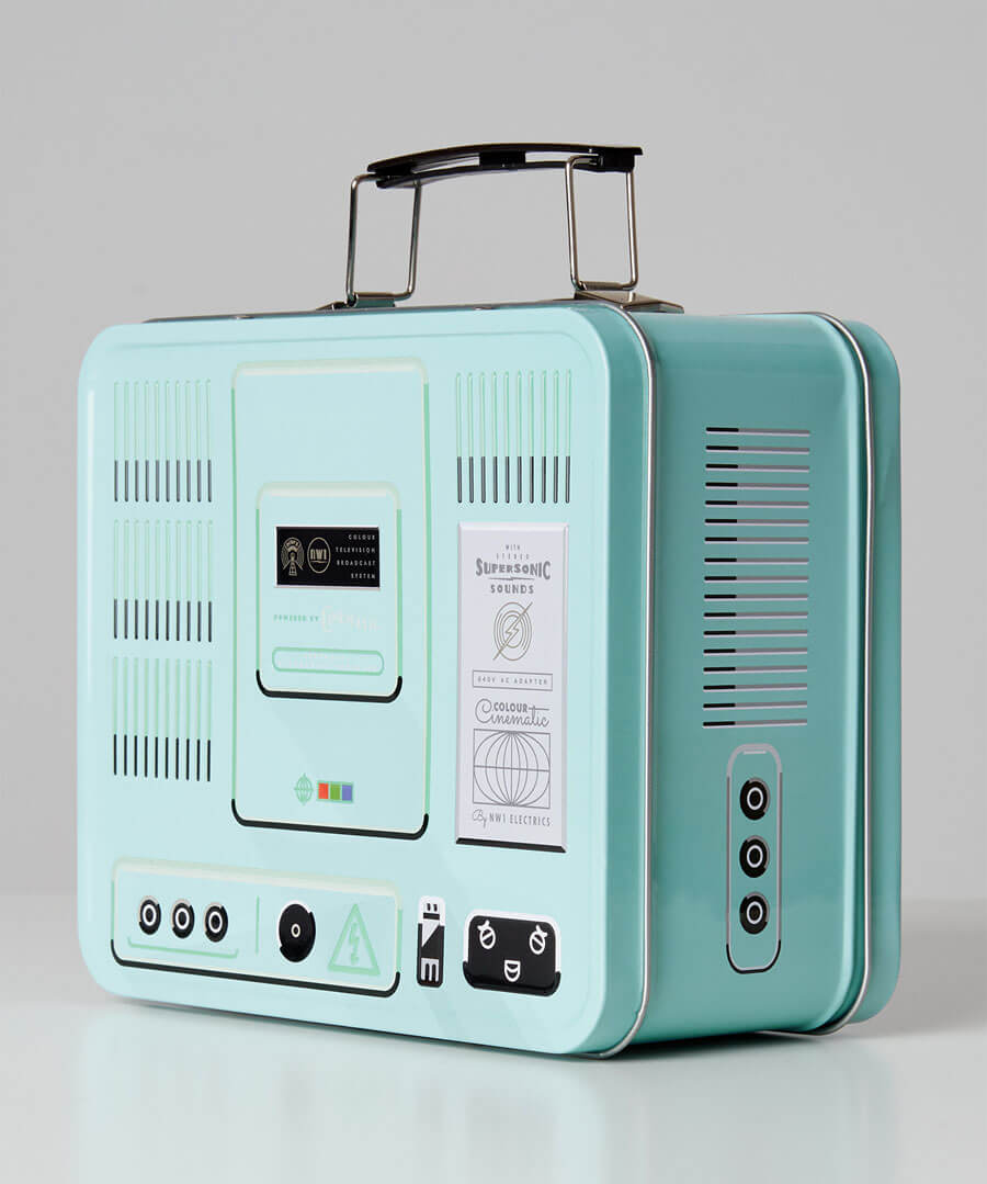 TV Lunch Box Back