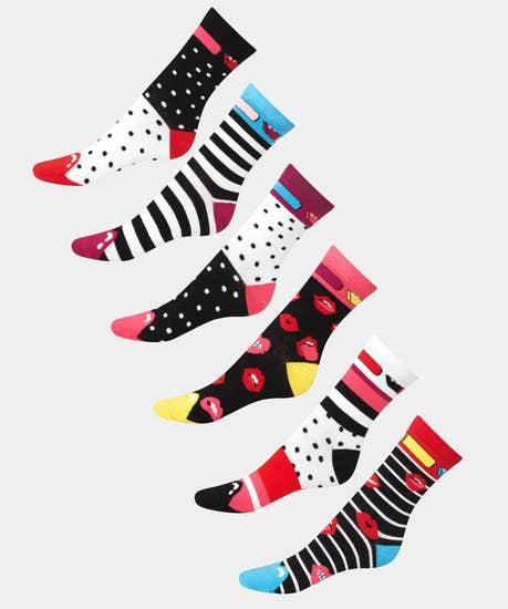 Lip Sync Socks