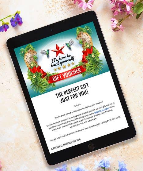 Email Gift Voucher