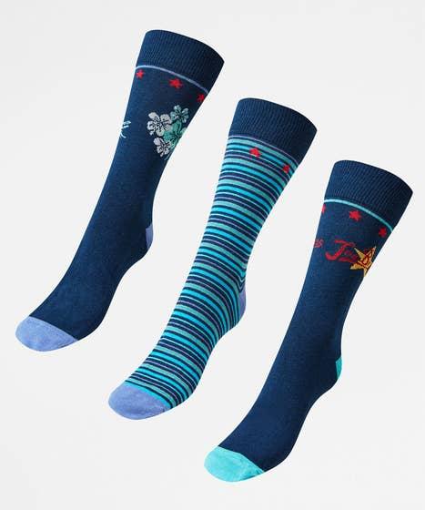 Joes Pack Of 3 Mens Socks