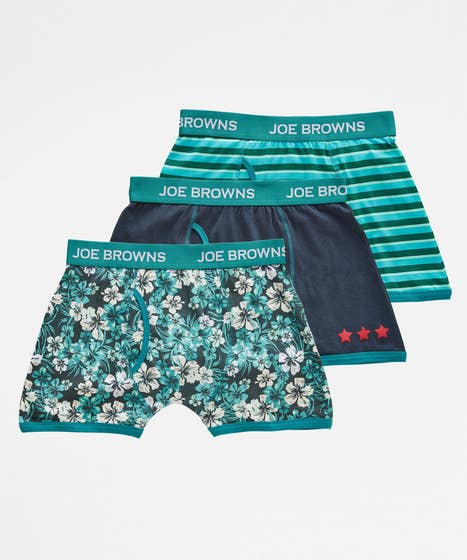 Joes Pack Of 3 Mens Boxers