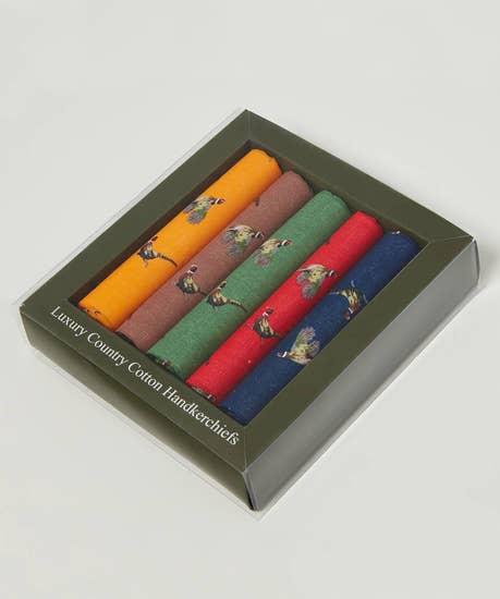 Pack Of 5 Pocket Squares