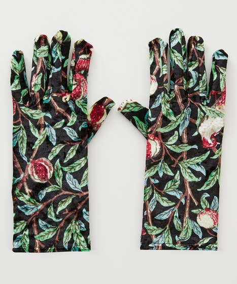 Indian Palace Velvet Gloves