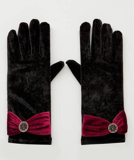Mystery Velvet Gloves