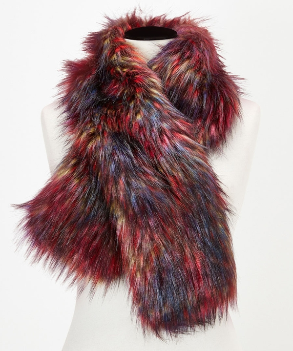 Northern Lights Faux Fur Stole