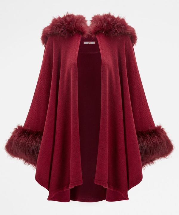 Fabulous Faux Fur Cape