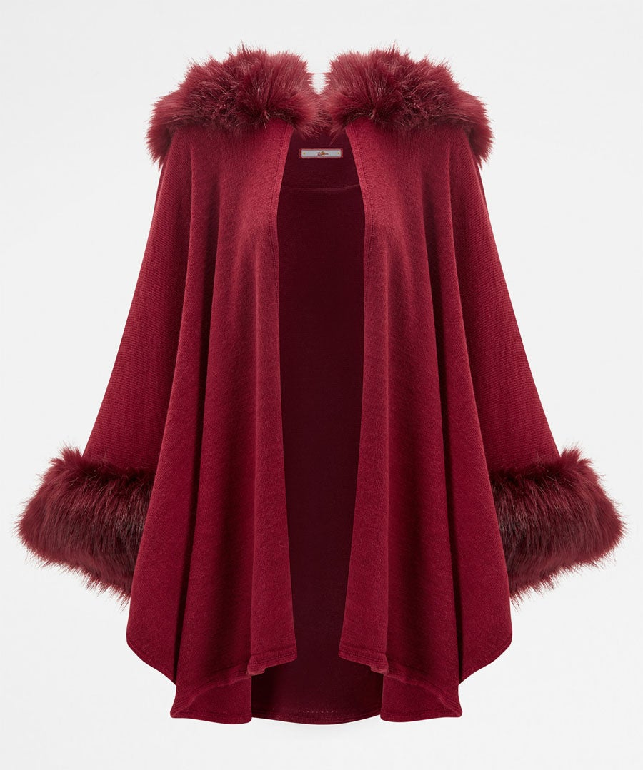 Fabulous Faux Fur Cape
