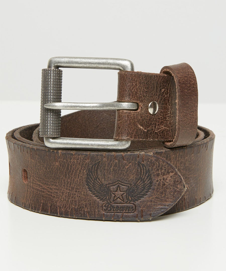 Raw And Rustic Belt Model Front