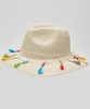 Sea Breeze Tassel Hat