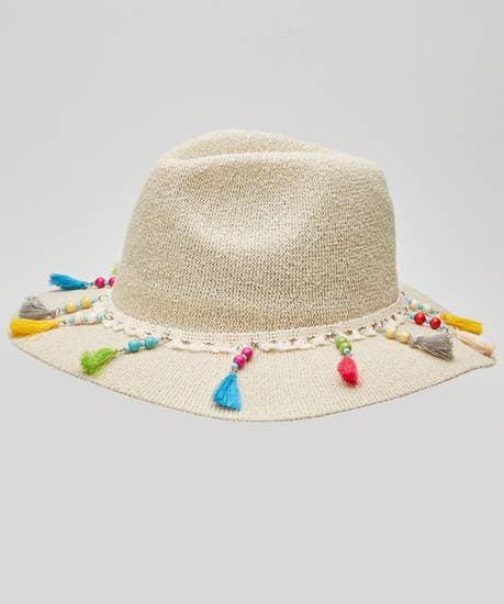 Sea Breeze Tassel Hat