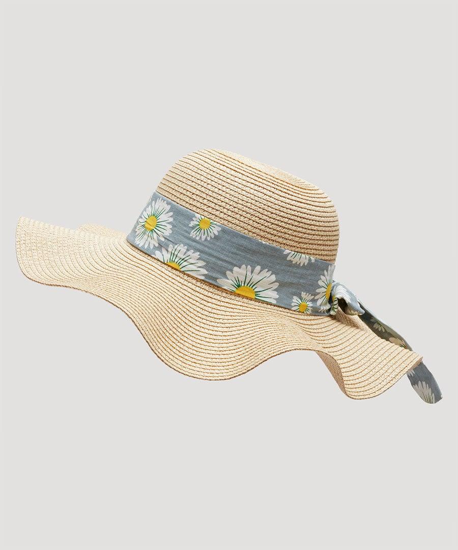Oh Daisy Daisy Summer Hat Model Front