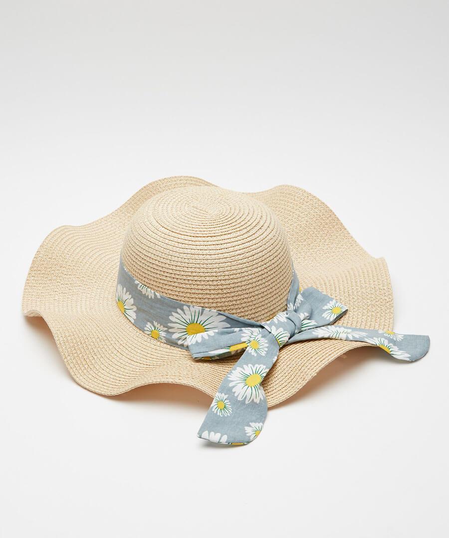 Oh Daisy Daisy Summer Hat Model Back