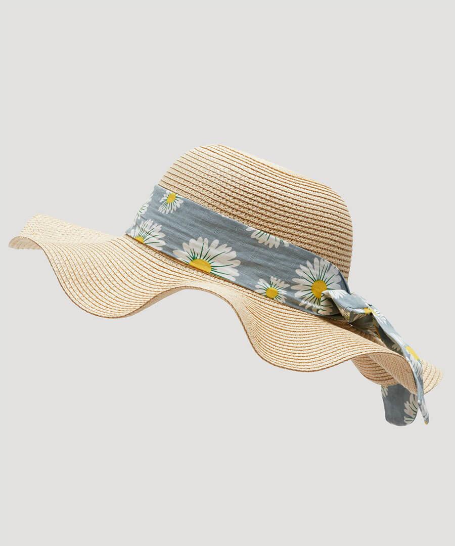Oh Daisy Daisy Summer Hat Back