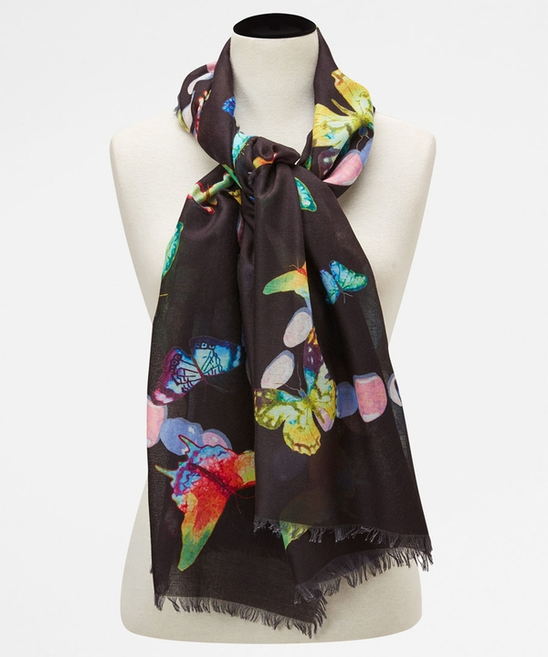 Midnight Flutters Scarf
