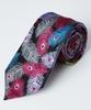 Distinctive Feather Silk Tie