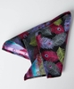 Distinctive Feather Silk Pocket Square