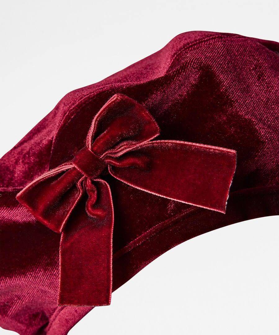 Winter's Wish Velvet Beret